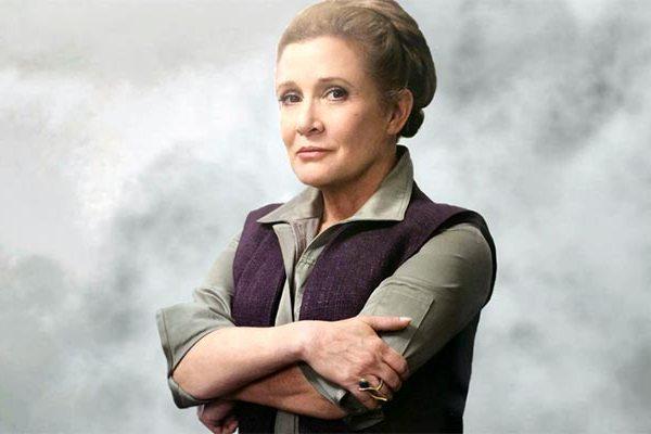 Carrie Fisher e Mark Hamill: insieme in uno scatto sul set di Star Wars VIII