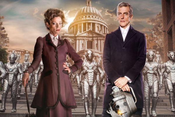Missy e i lavori di casa sul set della nuova stagione di Doctor Who