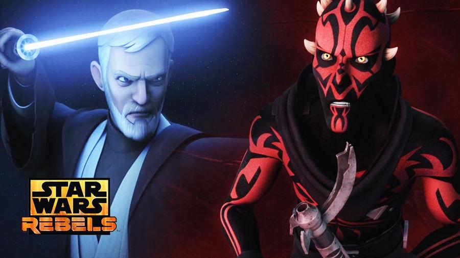 Dave Filoni parla dello scontro tra Obi-Wan e Maul in Star Wars Rebels