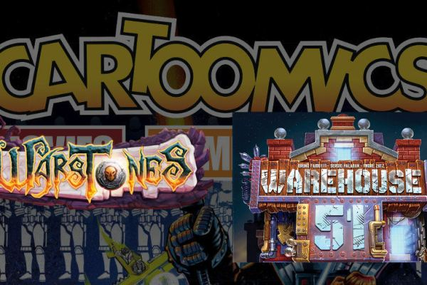 Anteprime da Cartoomics: Warstones e Warehouse 51