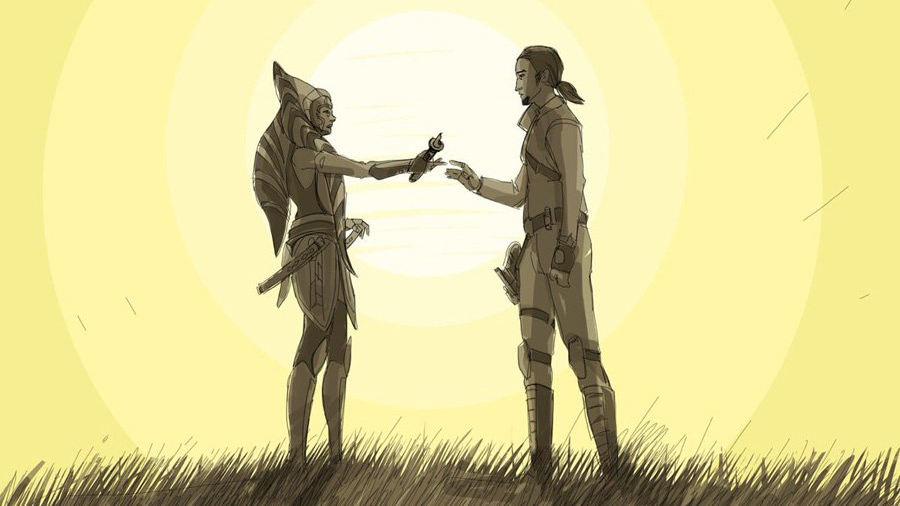 Star Wars: Filoni racconta il passato di Ahsoka e Kanan