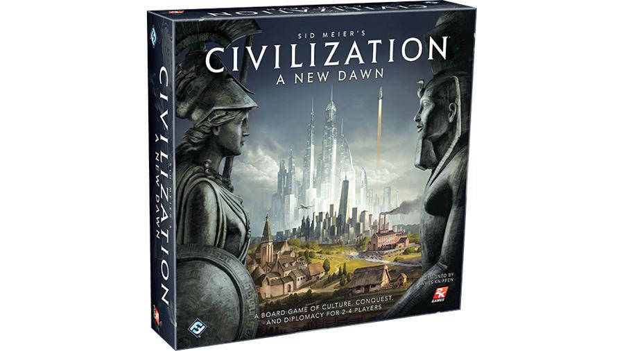 Fantasy Flight annuncia Sid Meyer's Civilization: A New Dawn