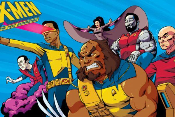 E se in Star Trek mettessero insieme un supergruppo di eroi stile Marvel?