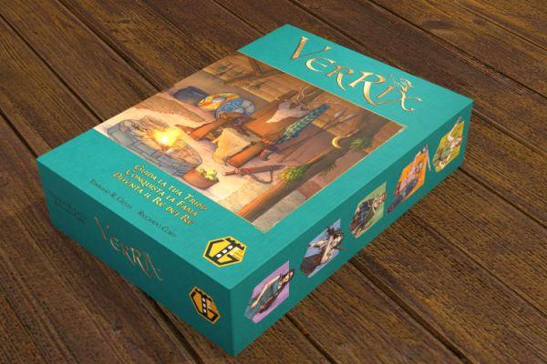 Anteprima: Verrix su Kickstarter