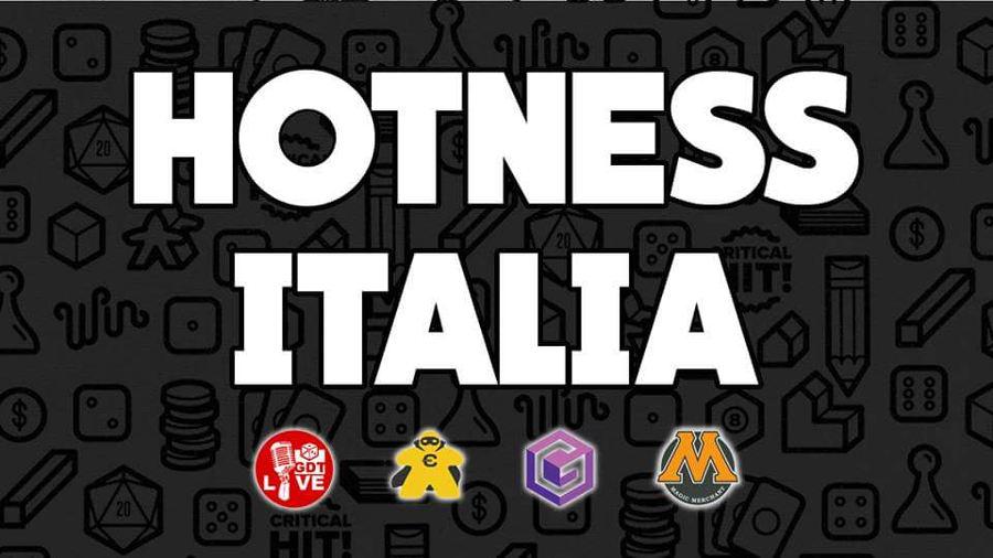 Hotness Italia (Beta) – Gennaio 2018