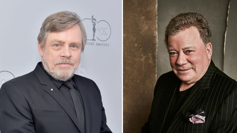 Mark Hamill e William Shatner si lanciano frecciatine su Twitter