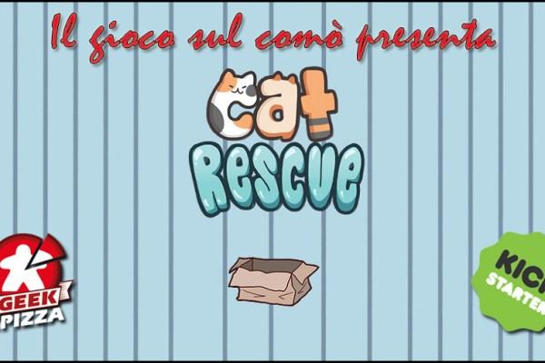 Il gioco sul comò – Anteprima Kickstarter: Cat Rescue