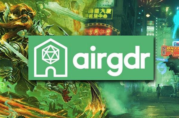 AirGDR – Il gioco di ruolo ha trovato casa