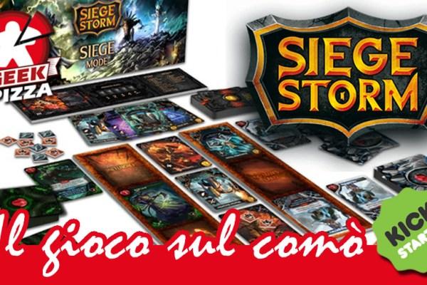 Novità Kickstarter: Siege Storm – The Siege Mode