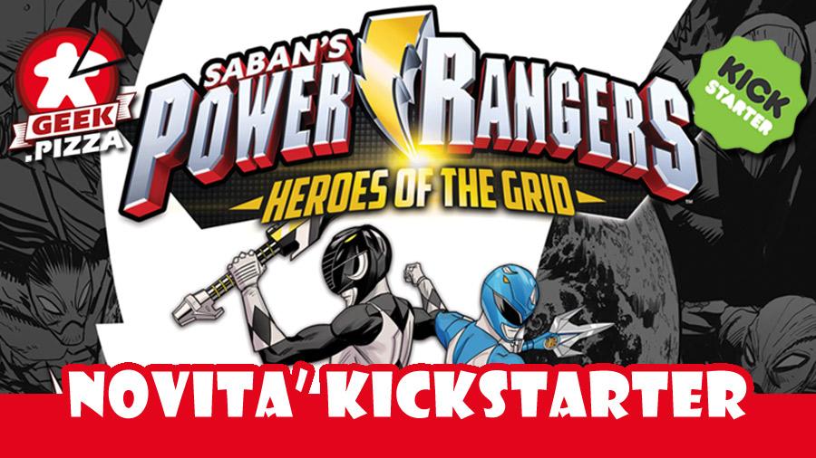 Power Rangers: Heroes of the Grid in arrivo su Kickstarter