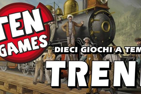 Ten Games – 10 giochi a tema Treni