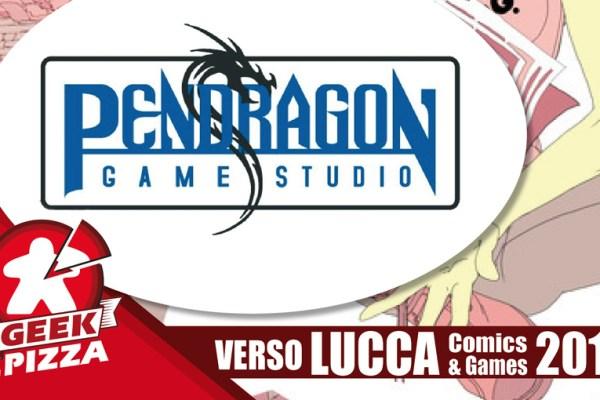 Verso Lucca Comics & Games 2018 – Pendragon Game Studio