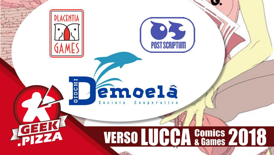 Verso Lucca Comics & Games 2018 – Post Scriptum \ Placentia Games \ Demoelà