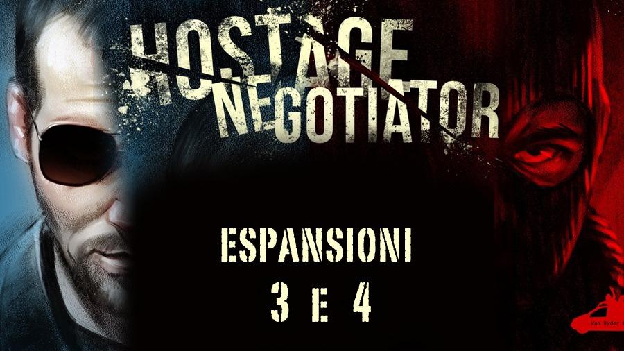 Hostage Negotiator: ecco i pack di espansione 3 e 4 di Cosmic Games