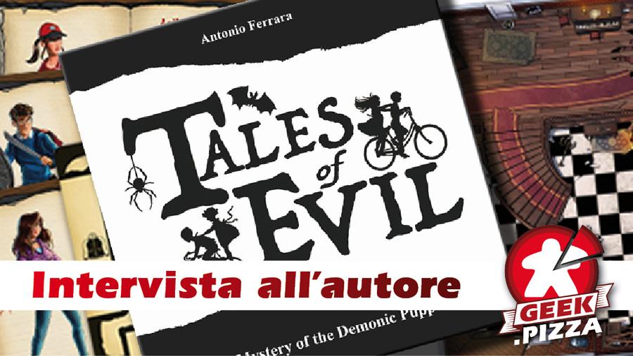 Pizza & Investigations: intervista all'autore di Tales of Evil