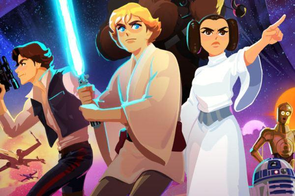 Star Wars: Galaxy of Adventures, una nuova serie animata arriva su YouTube