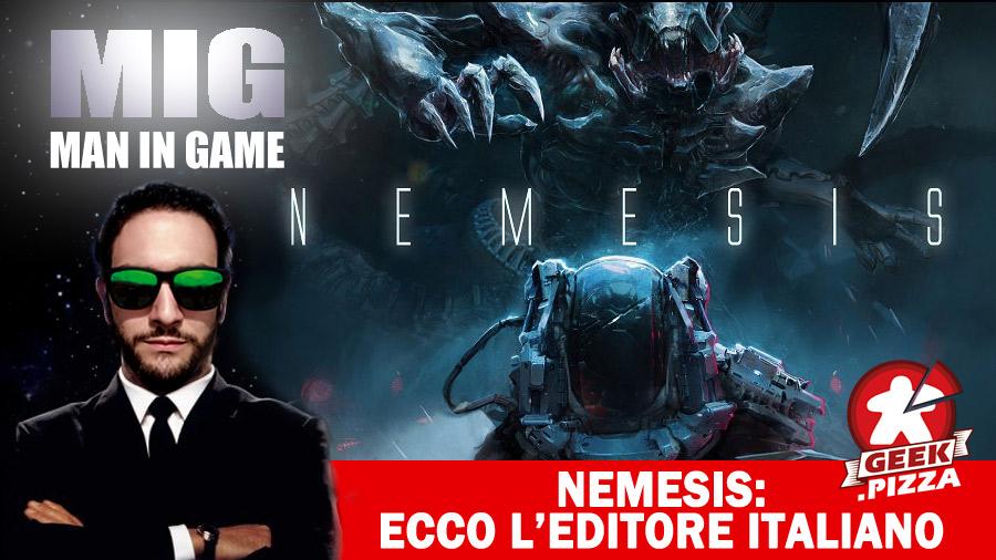 Nemesis: finalmente annunciato l'editore italiano, sarà…