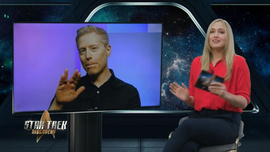 Star Trek Discovery: Anthony Rapp ospite a 'The Ready Room'