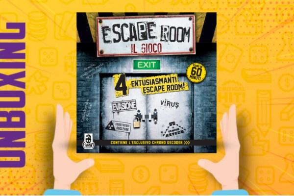 Escape Room – Unboxing
