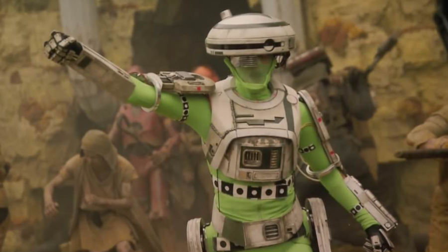 Star Wars: la creazione di L3-37, la parola a Industrial Light & Magic