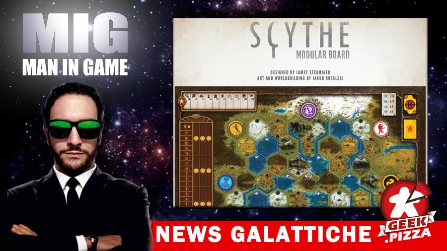 MIG News Galattiche: Scythe – In arrivo la plancia modulare!