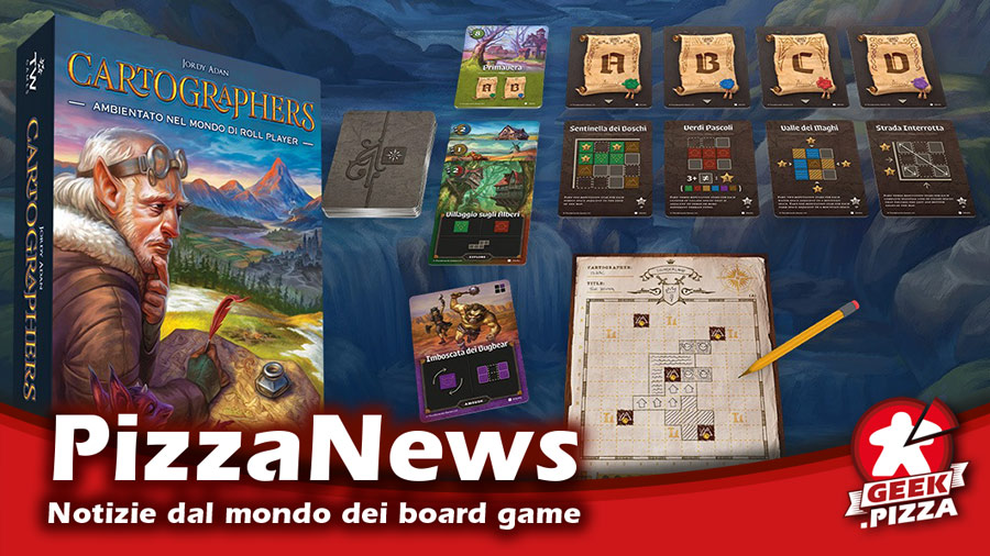 Cartographers arriverà in Italia