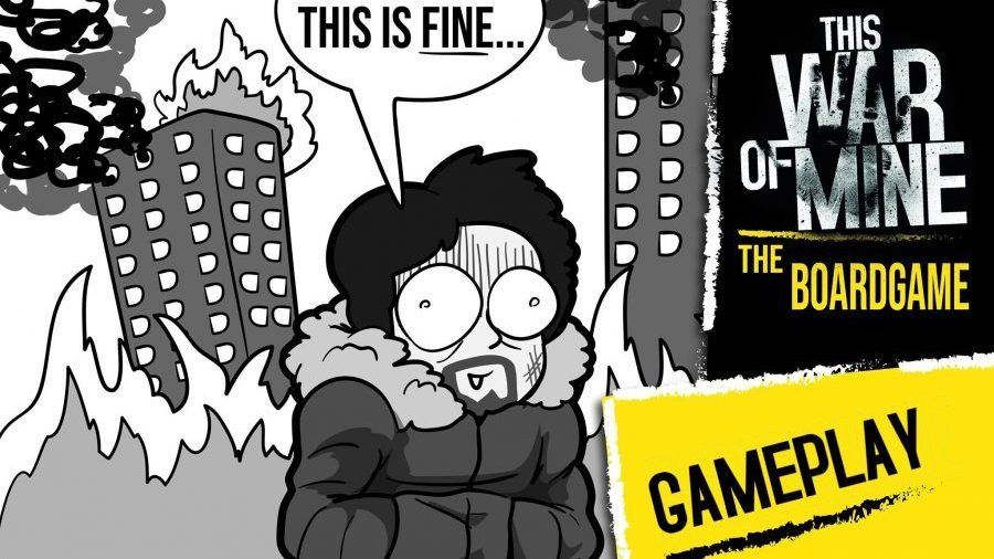 Board Game Physicist: Gameplay di This War of Mine