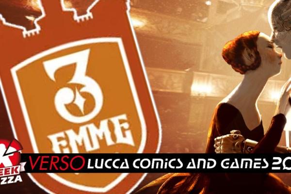 Verso Lucca Comics & Games: 3 Emme Games