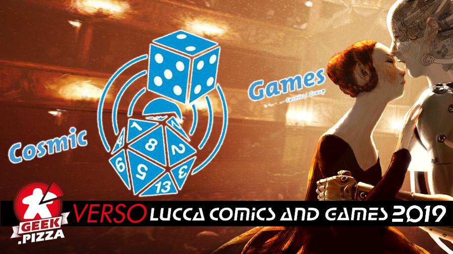Verso Lucca Comics & Games 2019: Cosmic Games