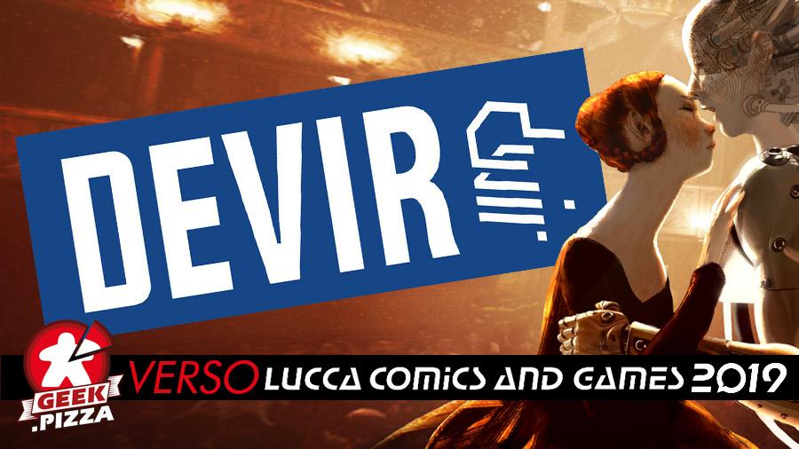 Verso Lucca Comics & Games: Devir