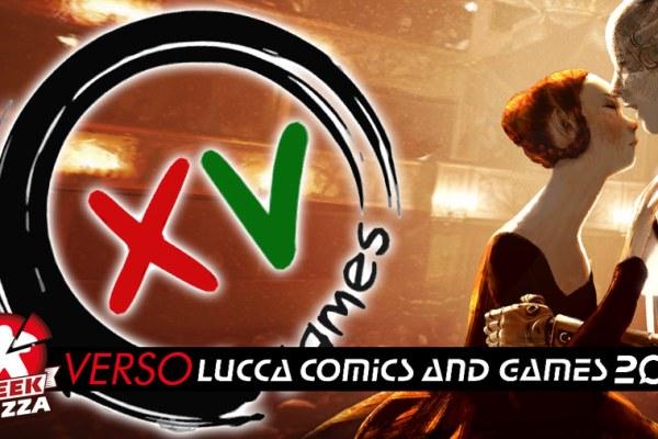 Verso Lucca Comics & Games: XV Games