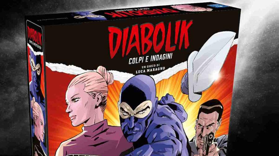 Pendragon Game Studio presenta Diabolik – Colpi e indagini
