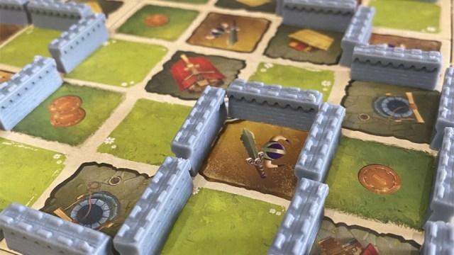 Le mura di York Plancia