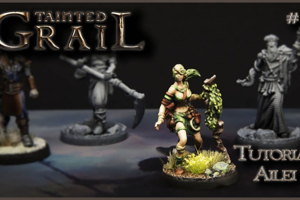 Kiki's Miniatures Mania – Tainted Grail Ep.3 – Come dipingere Ailei