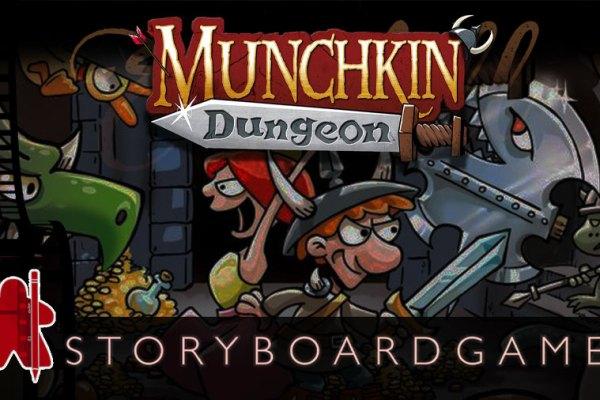 Storyboardgame – Munchkin Dungeon