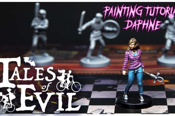 Kiki's Miniatures Mania – Tales of Evil ep. 1 – Come dipingere Daphne