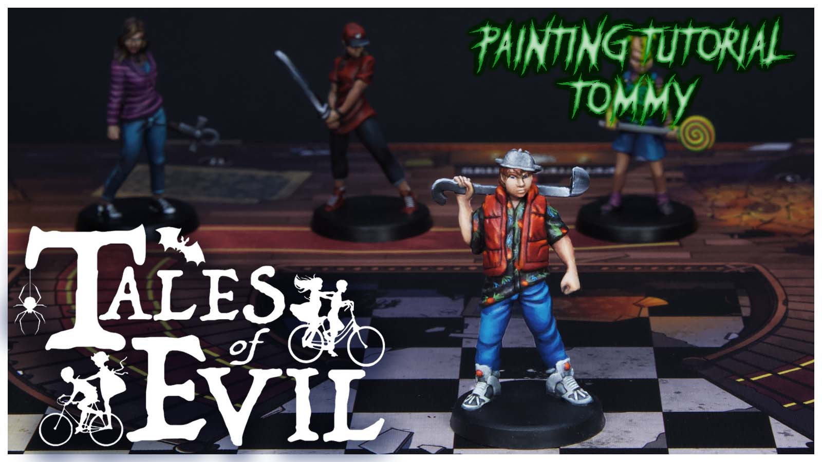 Kiki's Miniatures Mania – Tales of Evil Ep. 4 – Come dipingere Tommy
