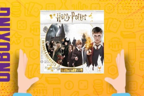 Harry Potter: un anno a Hogwarts – Unboxing