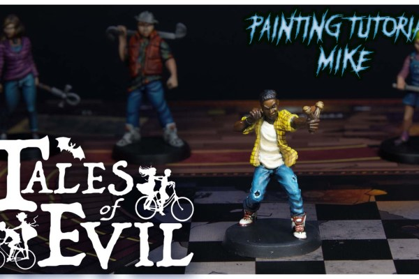 Kiki's Miniatures Mania – Tales of Evil Ep. 5 – Come dipingere Mike