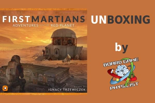 First Martians – Unboxing della versione italiana