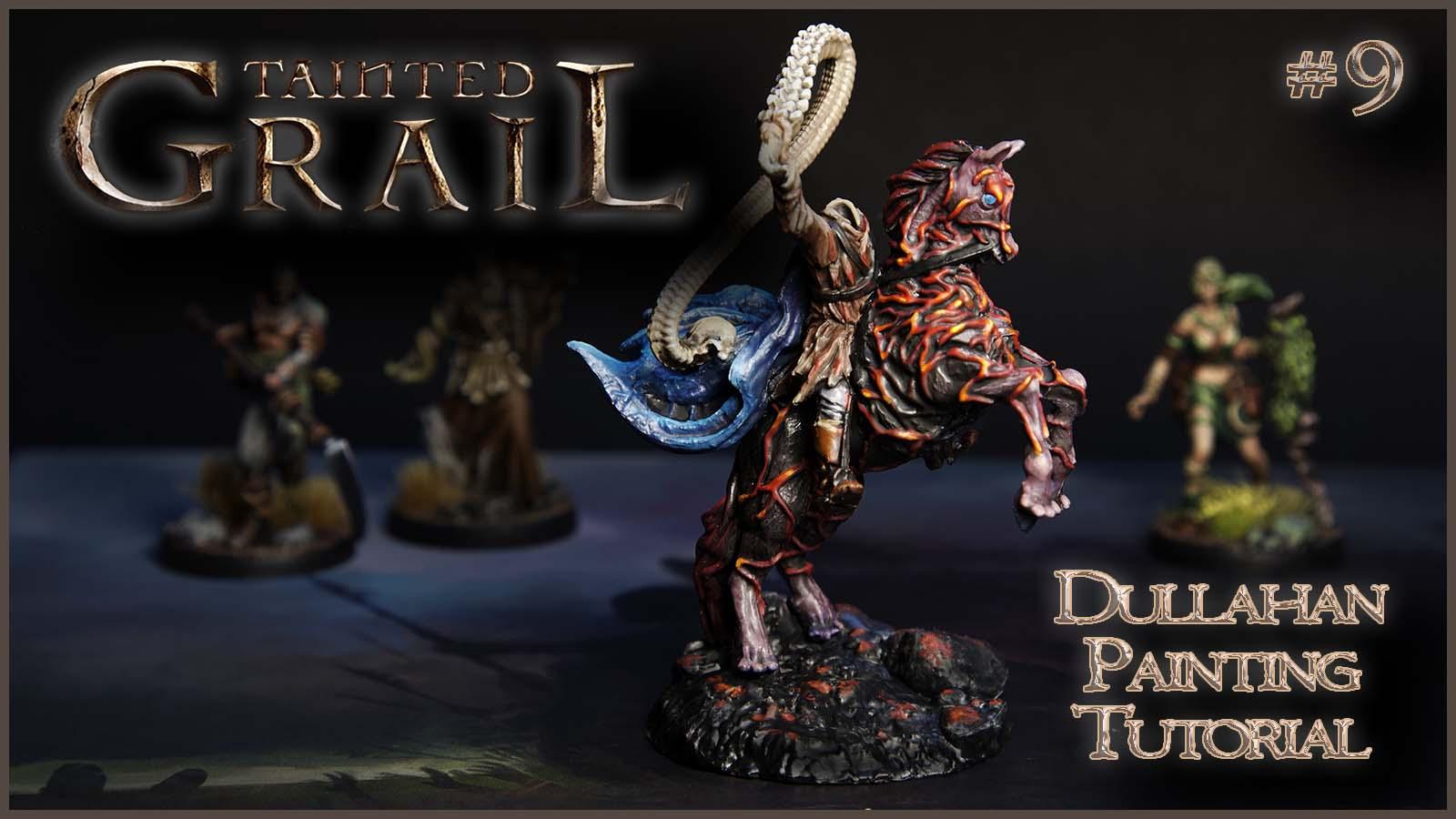 Kiki's Miniatures Mania – Tainted Grail ep.9 – Come dipingere il Dullahan