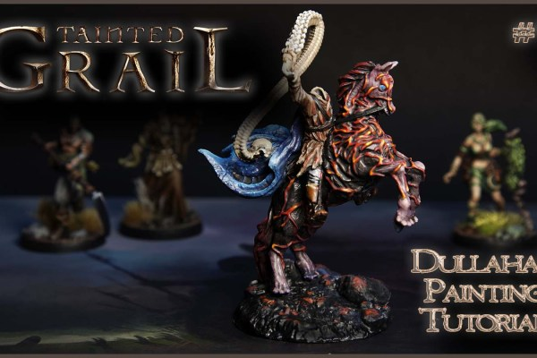 Kiki's Miniatures Mania – Tainted Grail ep.9 – Come dipingere il Dullahan