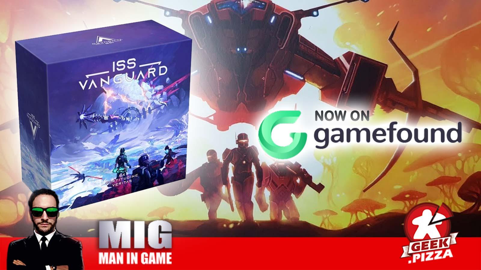 ISS Vanguard, novità Kickstarter? No, Gamefound!