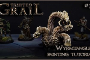 Kiki's Miniatures Mania – Tainted Grail ep.12 – Come dipingere il Wyrmtangle