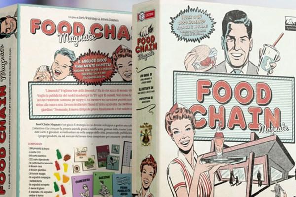 Food Chain Magnate arriva in italiano grazie ad MS Edizioni