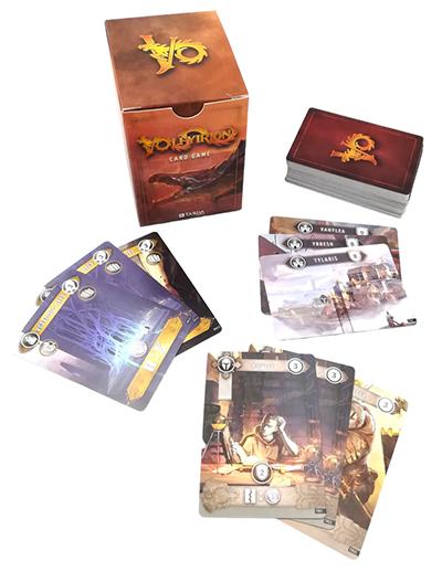Volfyirion scatola e materiali