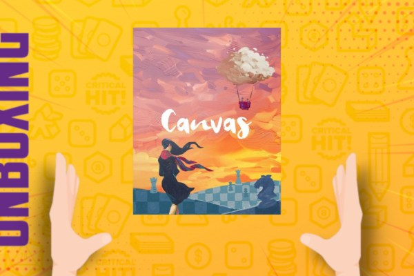 Canvas – Unboxing