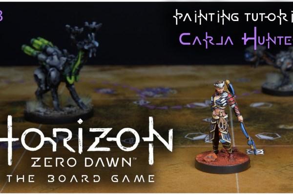 Kiki's Miniatures Mania – Horizon Zero Dawn ep.3 – Come dipingere la tribù Carja