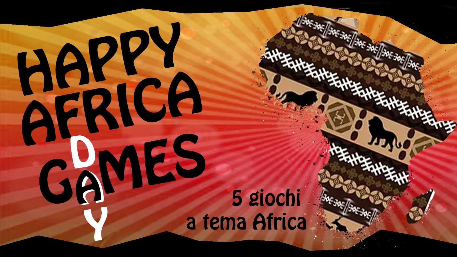 5 giochi a tema in occasione della Giornata dell'Africa