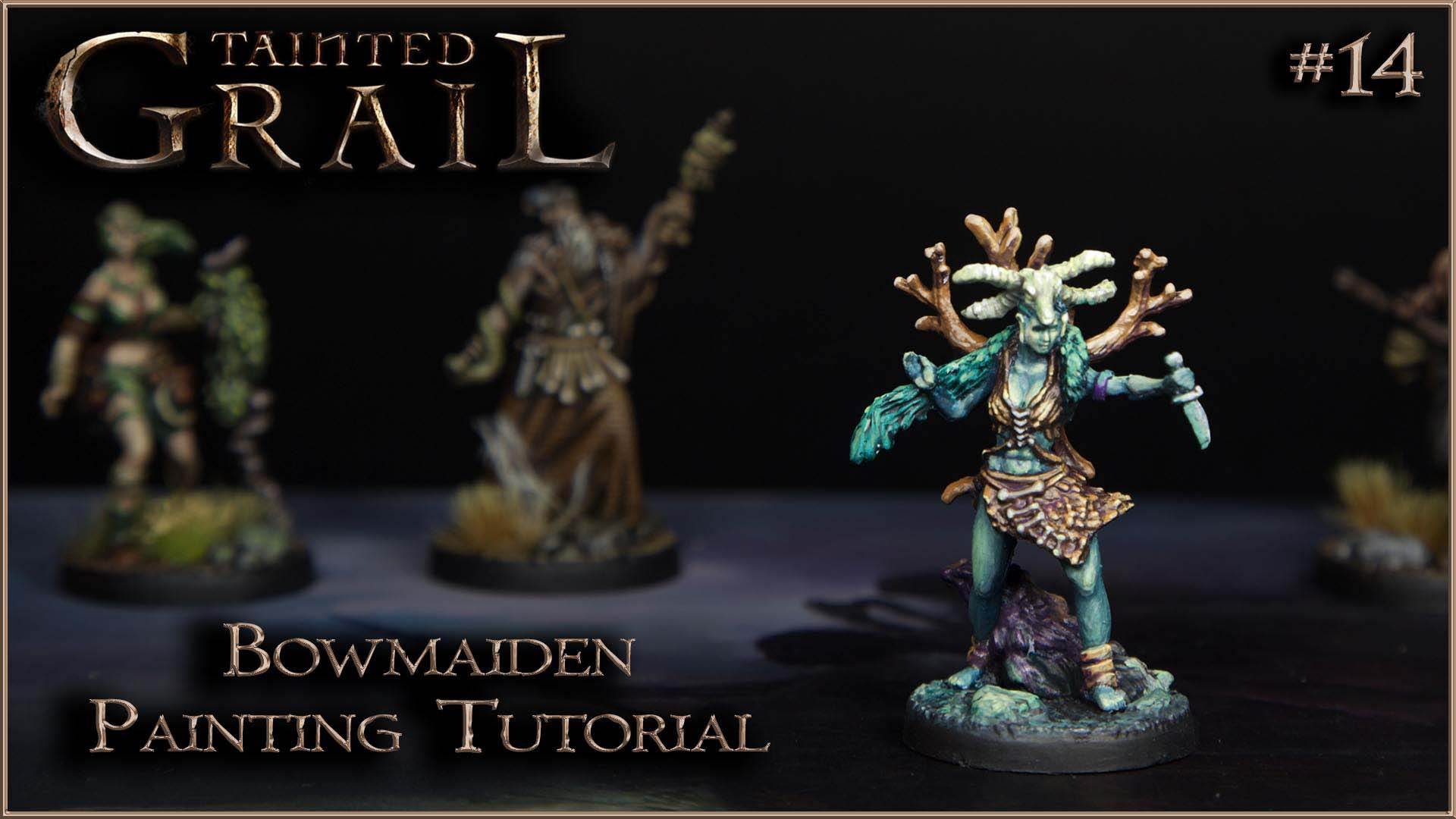 Kiki's Miniatures Mania – Tainted Grail ep.14 – Come dipingere Bowmaiden